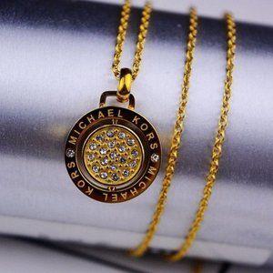 💖Michael Zircon Inlaid Rotatable Necklace